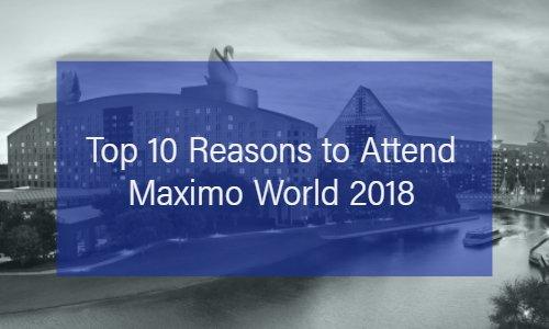MaximoWorld 2018 Maximo Conference Blog Post Thumbnail