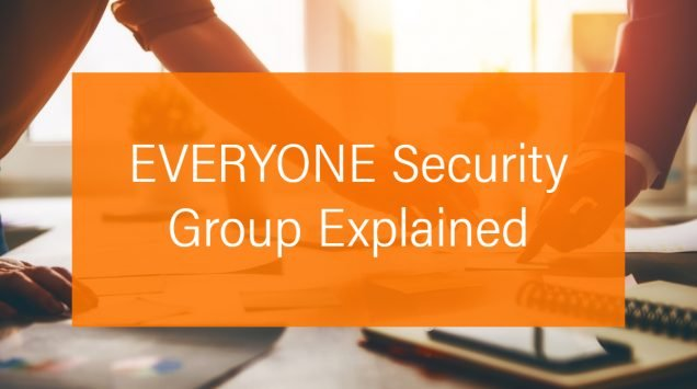 Maximo Everyone Security Group Explained