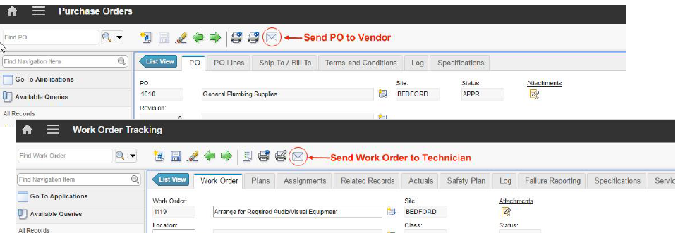 Maximo Emails with pdf attachementsAC